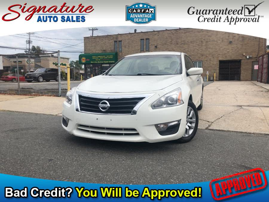Used 2015 Nissan Altima in Franklin Square, New York | Signature Auto Sales. Franklin Square, New York