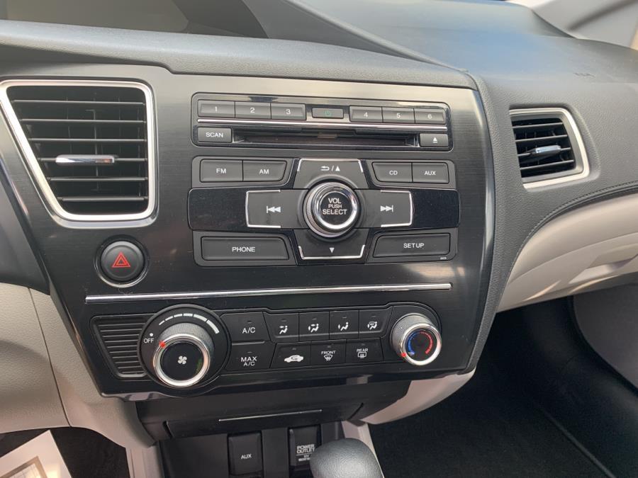 Used Honda Civic Sdn 4dr Auto LX 2013 | Harbor View Auto Sales LLC. Stamford, Connecticut