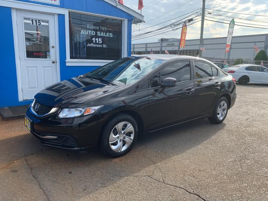 2013 Honda Civic Sdn 4dr Auto LX, available for sale in Stamford, CT