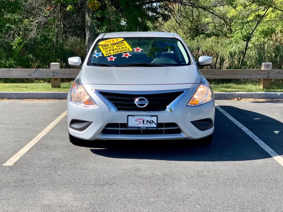 Used 2018 Nissan Versa Sedan in Revere, Massachusetts | Sena Motors Inc. Revere, Massachusetts