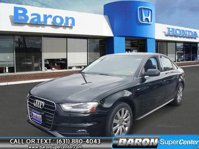 Used 2015 Audi A4 in Patchogue, New York | Baron Supercenter. Patchogue, New York