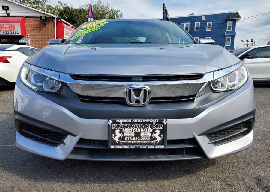 2018 Honda Civic Sedan LX CVT, available for sale in Irvington, New Jersey | Foreign Auto Imports. Irvington, New Jersey