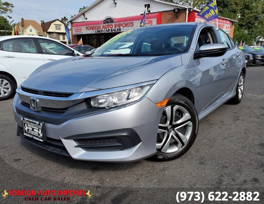 Used Honda Civic Sedan LX CVT 2018 | Foreign Auto Imports. Irvington, New Jersey
