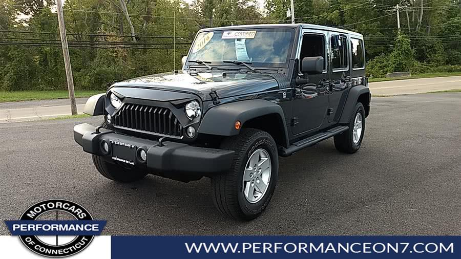 Used 2016 Jeep Wrangler Unlimited in Wilton, Connecticut | Performance Motor Cars. Wilton, Connecticut