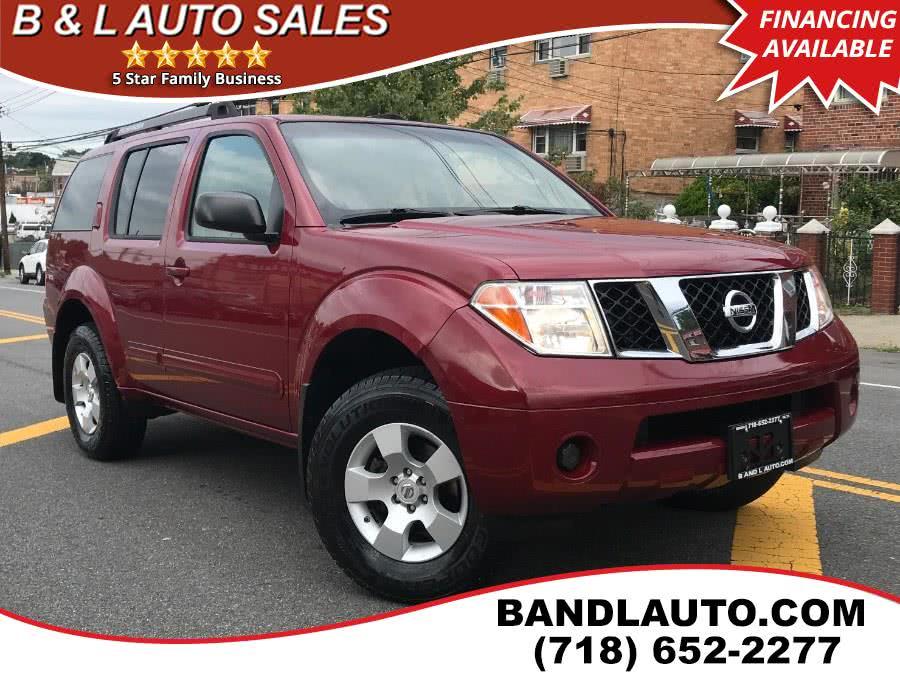 Used 2007 Nissan Pathfinder in Bronx, New York | B & L Auto Sales LLC. Bronx, New York