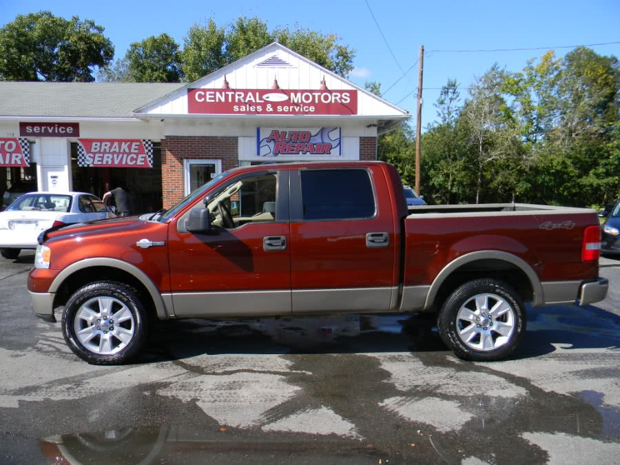 "Used Ford F-150 SuperCrew 139"" King Ranch 4WD 2005 