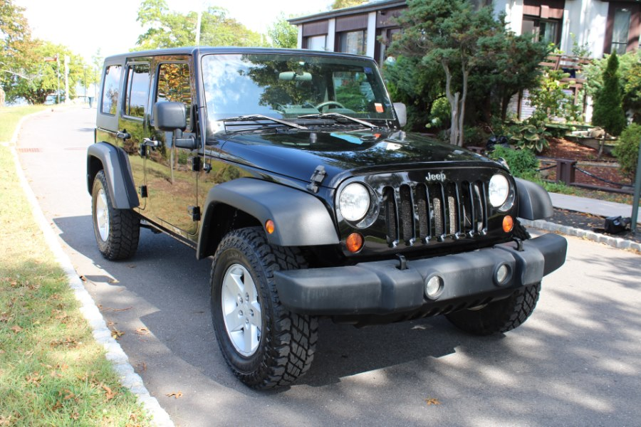 2009 Jeep Wrangler Unlimited 4WD 4dr X, available for sale in Great Neck, NY