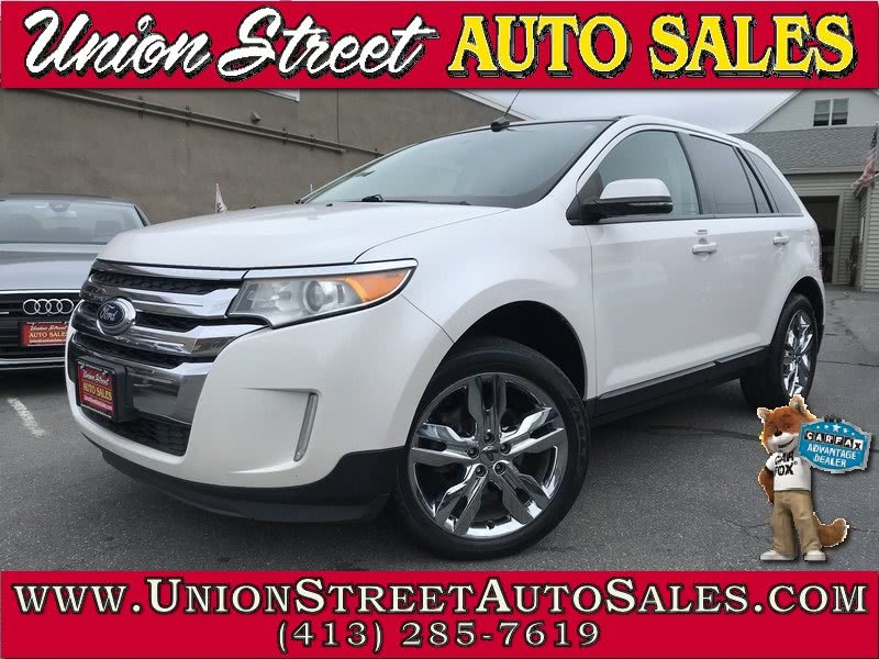 2013 Ford Edge 4dr SEL AWD, available for sale in West Springfield, Massachusetts | Union Street Auto Sales. West Springfield, Massachusetts