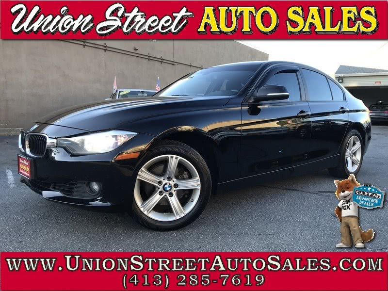 2013 BMW 3 Series 4dr Sdn 328i xDrive AWD SULEV, available for sale in West Springfield, MA