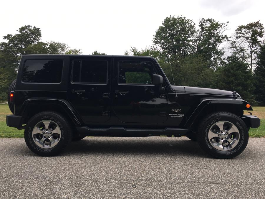 2018 Jeep Wrangler Unlimited Sahara Sahara 4x4, available for sale in Franklin Square, New York | Luxury Motor Club. Franklin Square, New York