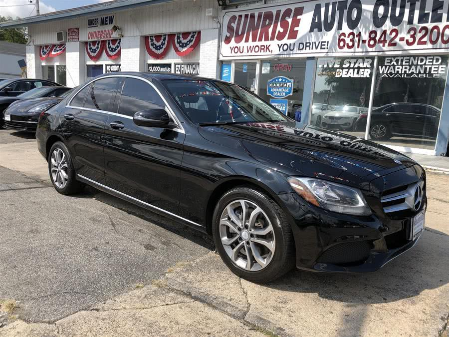 Used 2016 Mercedes-Benz C-Class in Amityville, New York | Sunrise Auto Outlet. Amityville, New York