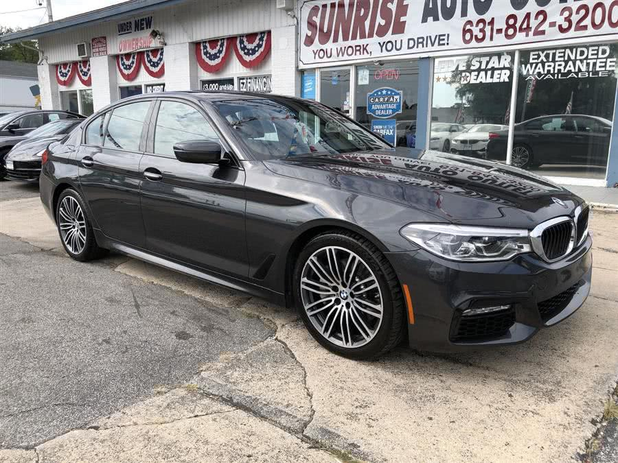 Used 2017 BMW 5 Series in Amityville, New York | Sunrise Auto Outlet. Amityville, New York