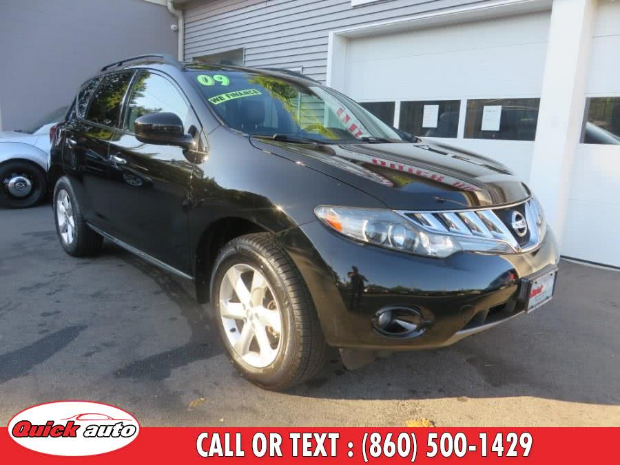 Used 2009 Nissan Murano in Bristol, Connecticut | Quick Auto LLC. Bristol, Connecticut