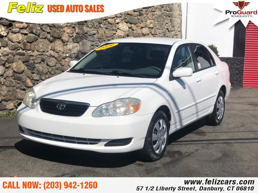 Used 2006 Toyota Corolla in Danbury, Connecticut | Feliz Used Auto Sales. Danbury, Connecticut
