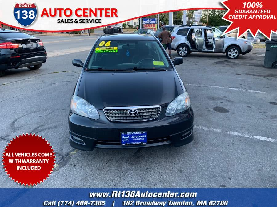 Used 2006 Toyota Corolla in Taunton, Massachusetts | Rt 138 Auto Center Inc . Taunton, Massachusetts