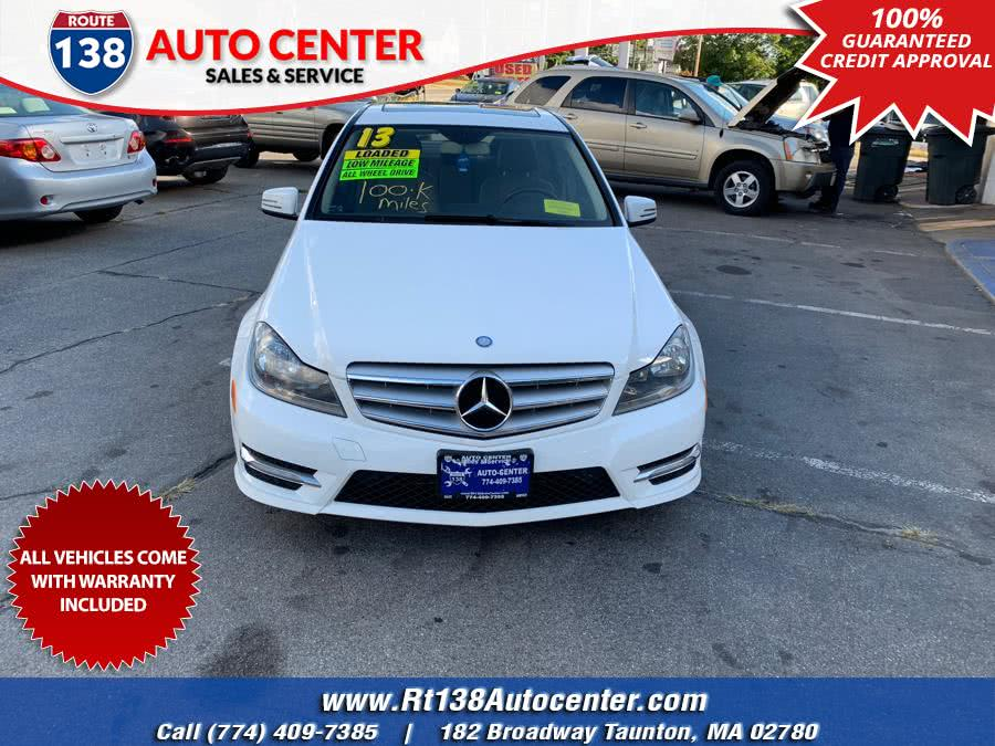 Used 2013 Mercedes-Benz C-Class in Taunton, Massachusetts | Rt 138 Auto Center Inc . Taunton, Massachusetts