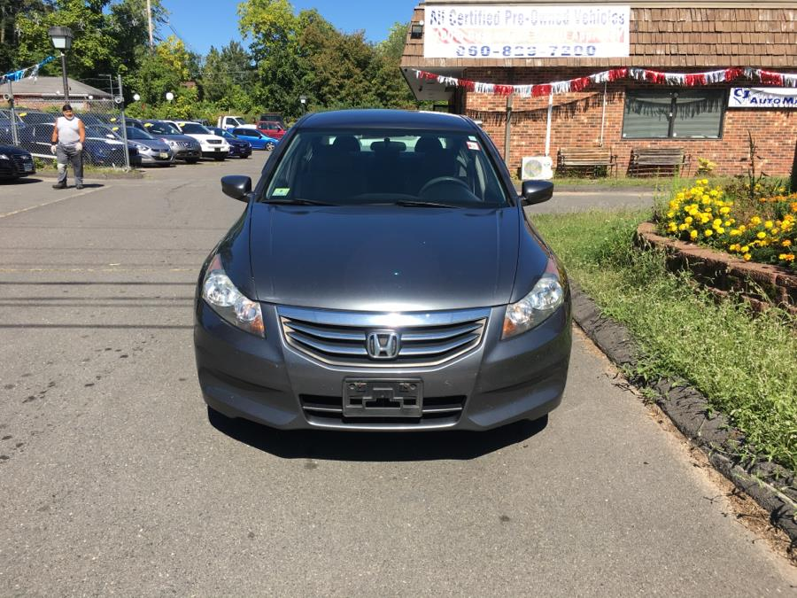 2012 Honda Accord Sdn 4dr I4 Auto LX Premium, available for sale in Bristol , Connecticut   CJ Auto Mall. Bristol , Connecticut
