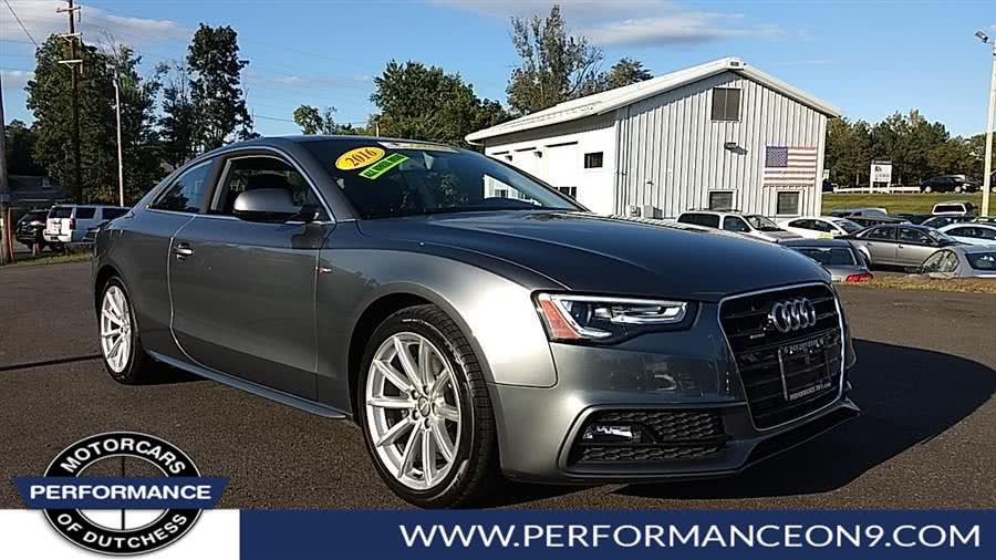 Used Audi A5 2dr Cpe Auto Premium Plus 2016 | Performance Motorcars Inc. Wappingers Falls, New York
