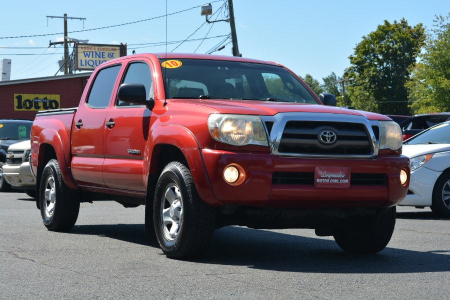 Used Toyota Tacoma 4WD Double V6 MT (GS) 2010 | Longmeadow Motor Cars. ENFIELD, Connecticut