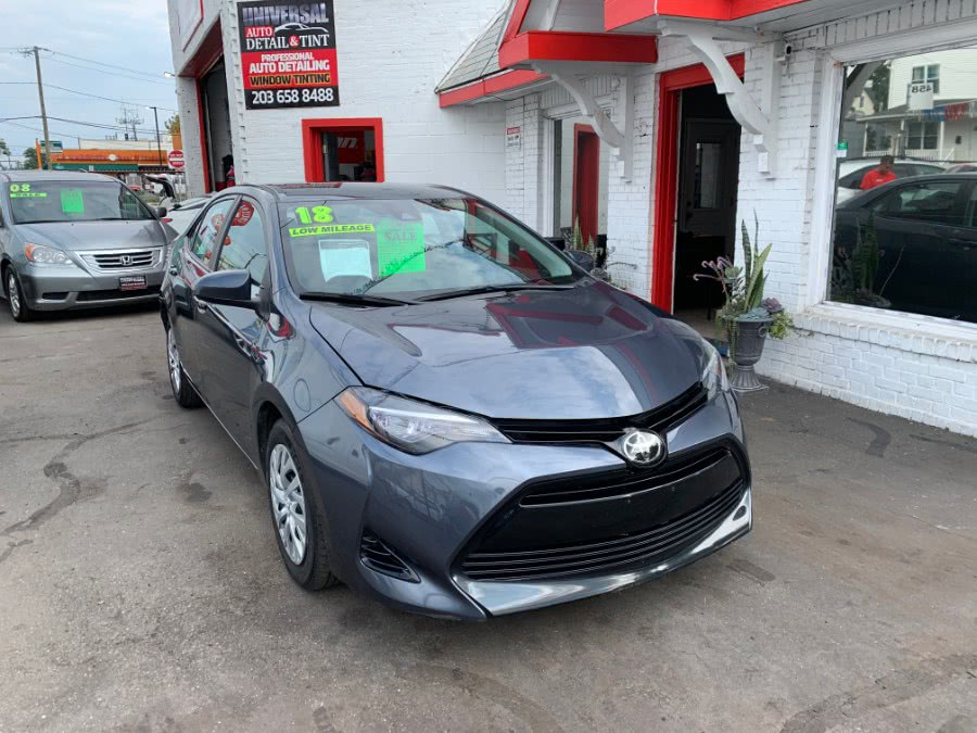 Used 2018 Toyota Corolla in Stamford, Connecticut | Universal Auto Sale and Repair. Stamford, Connecticut