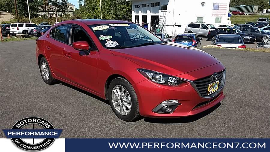 Used Mazda Mazda3 4dr Sdn Auto i Touring 2015 | Performance Motor Cars. Wilton, Connecticut