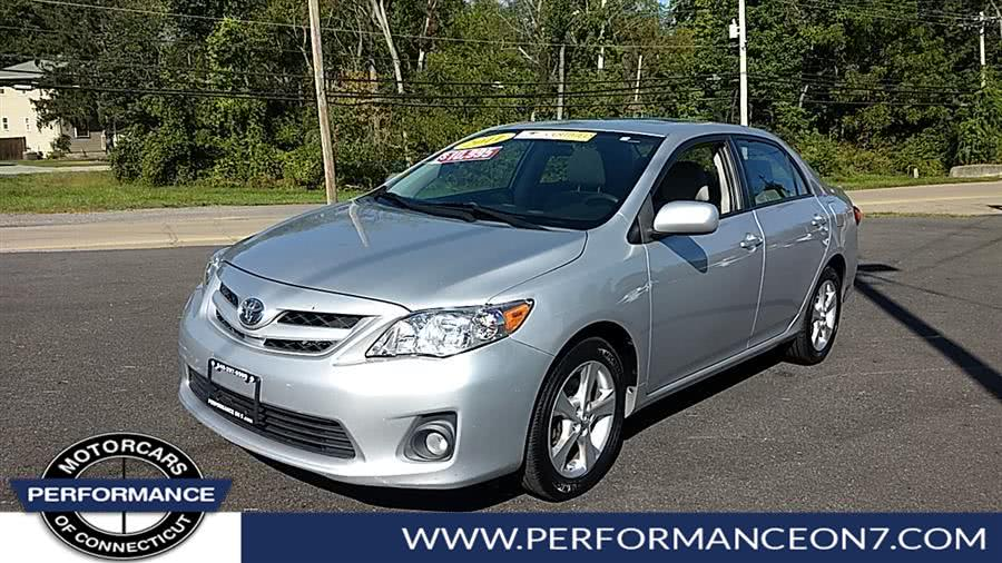 Used Toyota Corolla 4dr Sdn Auto LE 2011 | Performance Motor Cars. Wilton, Connecticut