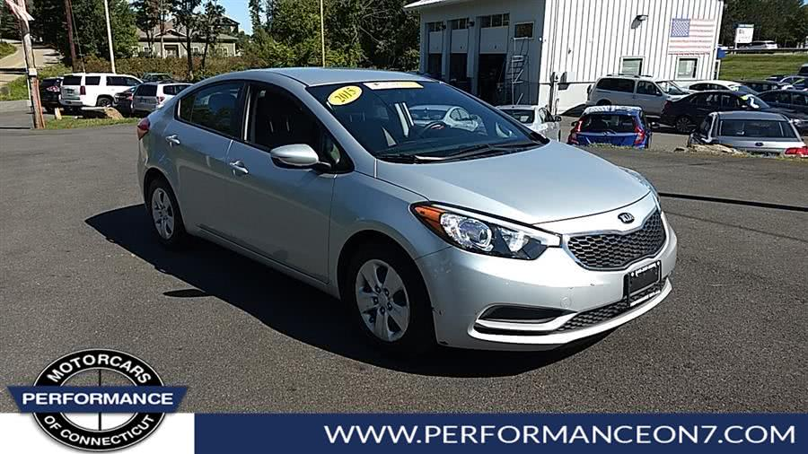 Used Kia Forte 4dr Sdn Auto LX 2015 | Performance Motor Cars. Wilton, Connecticut