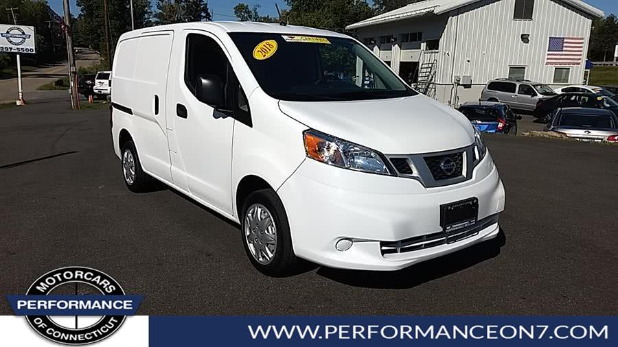 Used 2018 Nissan NV200 Compact Cargo in Wilton, Connecticut | Performance Motor Cars. Wilton, Connecticut