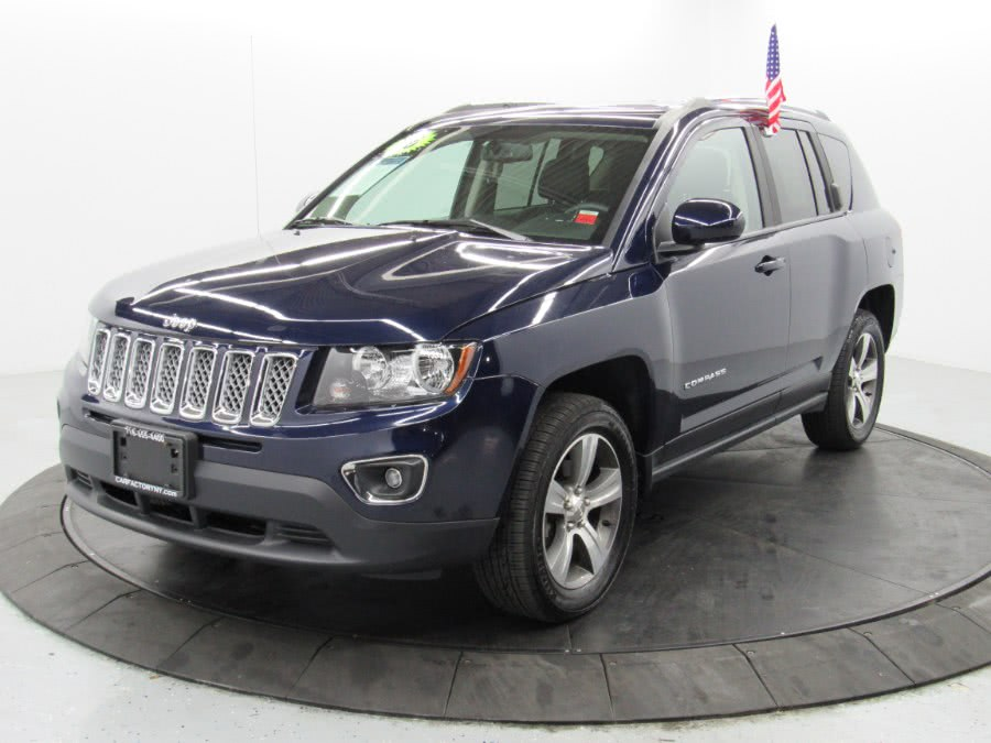Used Jeep Compass 4WD 4dr High Altitude Edition 2016 | Car Factory Inc.. Bronx, New York