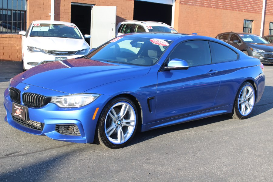 2015 BMW 4 Series 2dr Cpe 428i xDrive AWD SULEV, available for sale in Deer Park, New York | Car Tec Enterprise Leasing & Sales LLC. Deer Park, New York