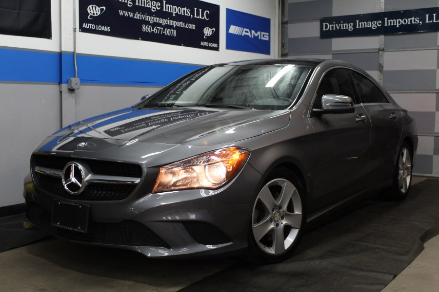 Used Mercedes-Benz CLA-Class 4dr Sdn CLA 250 4MATIC 2015 | Driving Image Imports LLC. Farmington, Connecticut