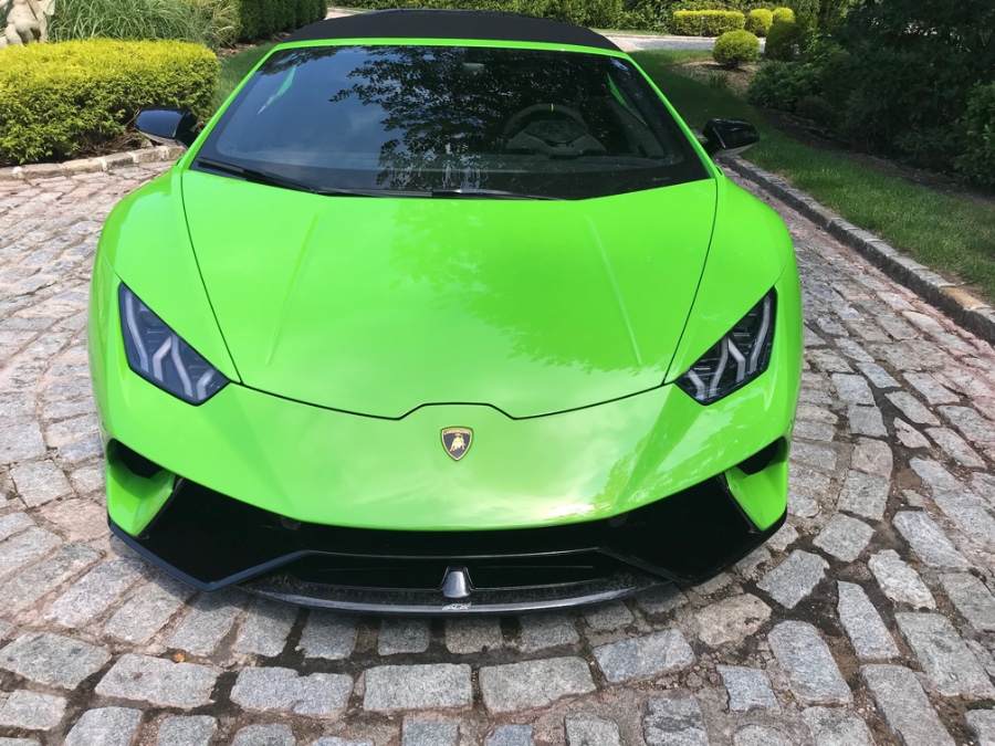 2018 Lamborghini Huracan Performante Spyder, available for sale in Willimantic, Connecticut | 0 to 60 Motorsports. Willimantic, Connecticut