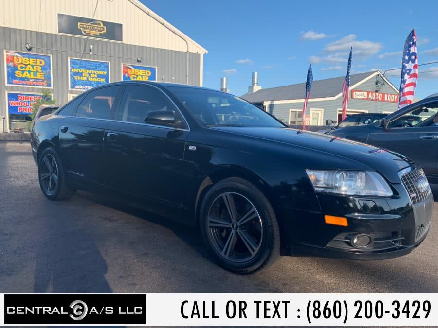 Used Audi A6 4dr Sdn 3.2L quattro 2008 | Central A/S LLC. East Windsor, Connecticut