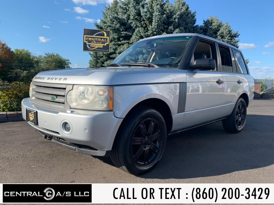 Used Land Rover Range Rover 4WD 4dr HSE 2008 | Central A/S LLC. East Windsor, Connecticut