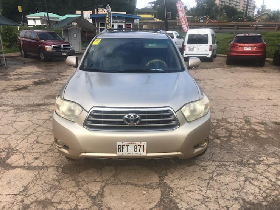 2008 Toyota Highlander LIMITED, available for sale in Lihue, Hawaii | Harbor Motors Inc. Lihue, Hawaii