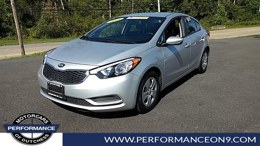 Used Kia Forte 4dr Sdn Auto LX 2015 | Performance Motorcars Inc. Wappingers Falls, New York