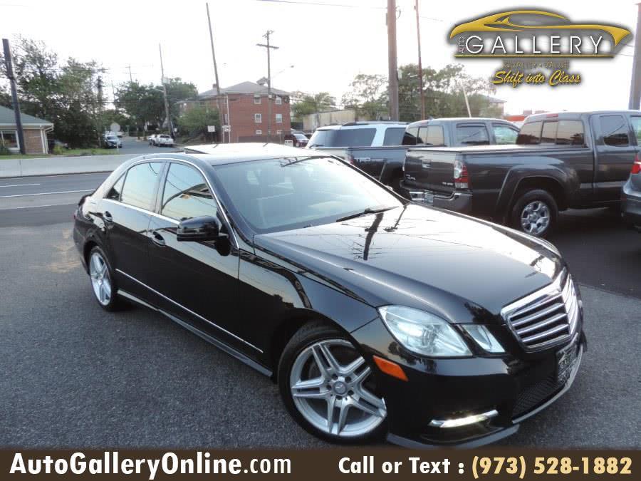 Used Mercedes-Benz E-Class 4dr Sdn E350 Sport 4MATIC *Ltd Avail* 2013 | Auto Gallery. Lodi, New Jersey