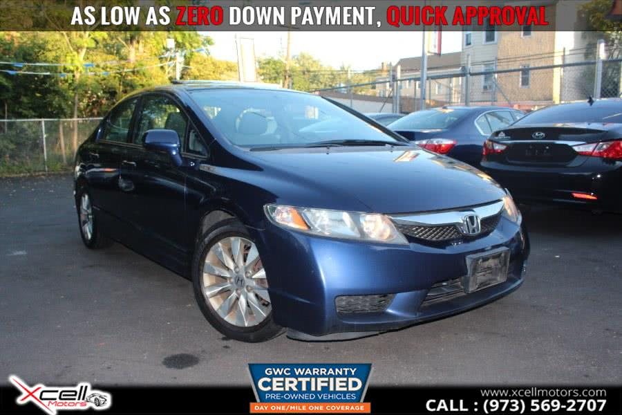 Used 2010 Honda Civic Sdn in Paterson, New Jersey | Xcell Motors LLC. Paterson, New Jersey