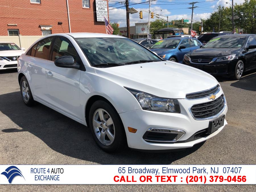 2016 Chevrolet Cruze Limited 4dr Sdn Auto LT w/1LT, available for sale in Elmwood Park, New Jersey | Route 4 Auto Exchange. Elmwood Park, New Jersey
