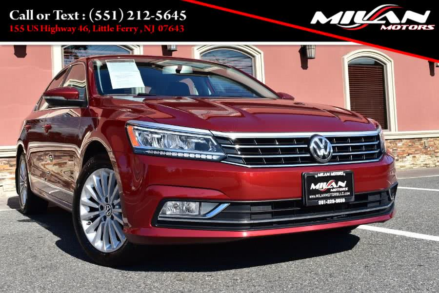 Used Volkswagen Passat 4dr Sdn 1.8T Auto SE w/Technology PZEV 2016 | Milan Motors. Little Ferry , New Jersey
