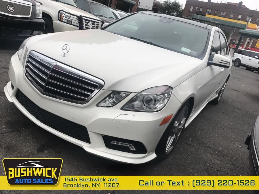 Used Mercedes-Benz E-Class 4dr Sdn E550 Sport 4MATIC 2011 | Bushwick Auto Sales LLC. Brooklyn, New York