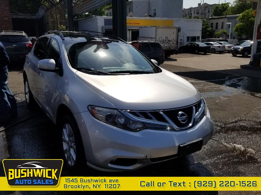 2013 Nissan Murano AWD 4dr SL, available for sale in Brooklyn, New York | Bushwick Auto Sales LLC. Brooklyn, New York
