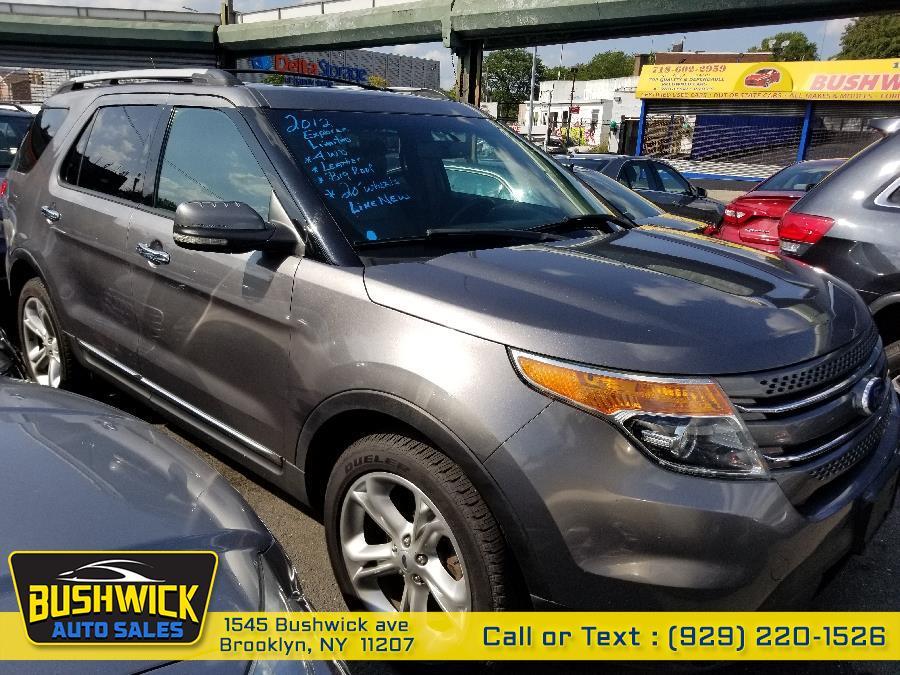 Used Ford Explorer 4WD 4dr Limited 2012 | Bushwick Auto Sales LLC. Brooklyn, New York