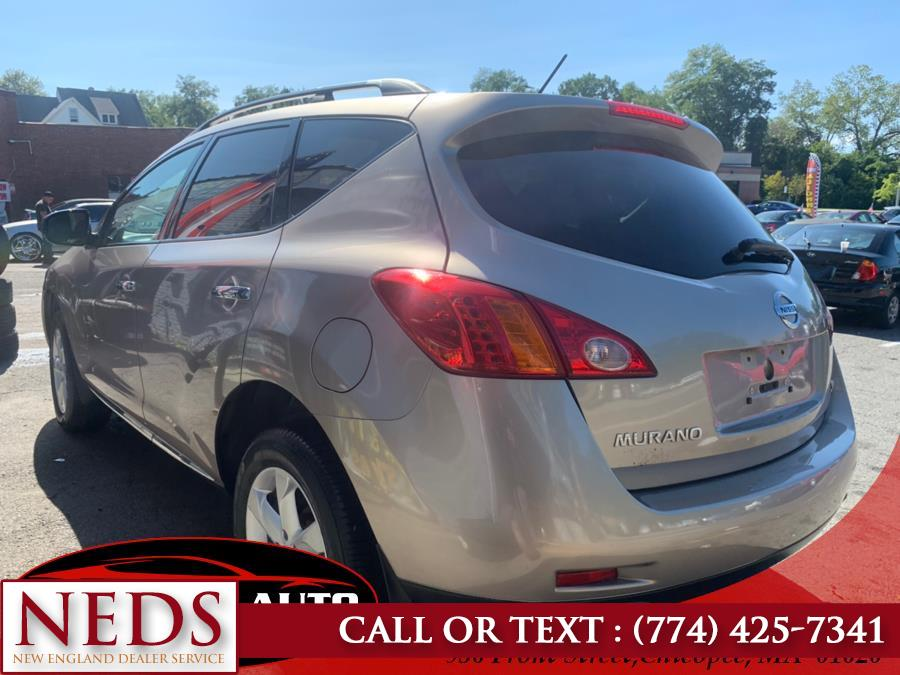 2009 Nissan Murano AWD 4dr S, available for sale in Indian Orchard, Massachusetts | New England Dealer Services. Indian Orchard, Massachusetts
