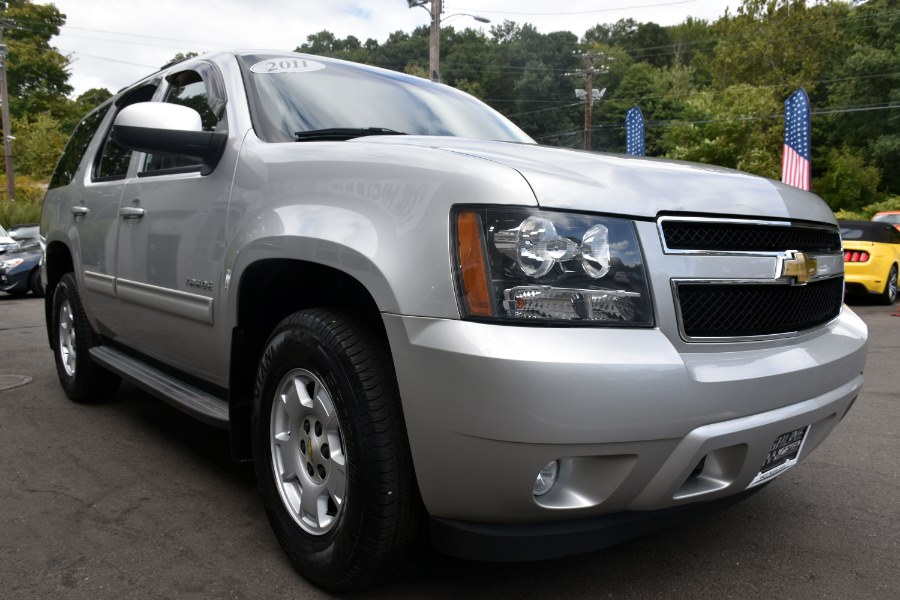 2011 Chevrolet Tahoe 4WD 4dr 1500 LT, available for sale in Waterbury, Connecticut | Highline Car Connection. Waterbury, Connecticut