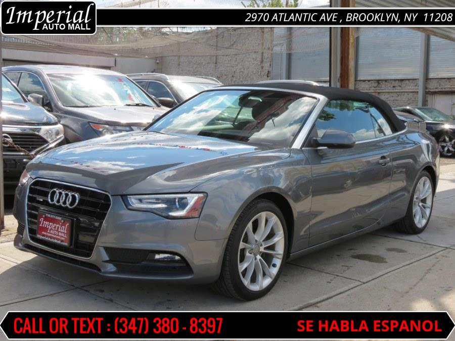 2013 Audi A5 2dr Cabriolet Auto quattro 2.0T Premium, available for sale in Brooklyn, New York | Imperial Auto Mall. Brooklyn, New York