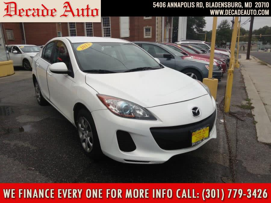 Used 2013 Mazda Mazda3 in Bladensburg, Maryland | Decade Auto. Bladensburg, Maryland