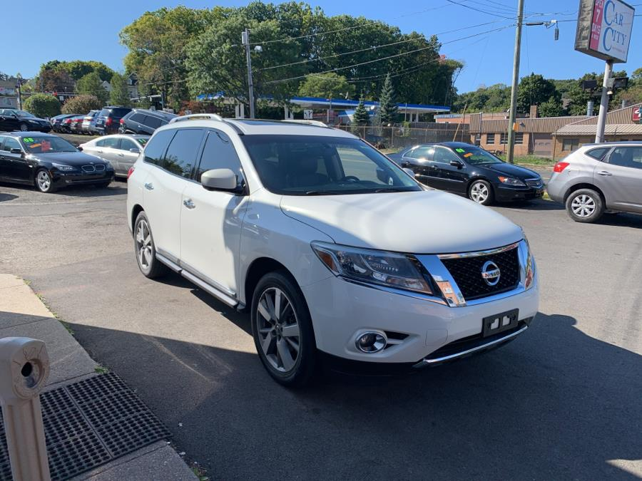 2013 Nissan Pathfinder 4WD suv, available for sale in Danbury, Connecticut | Car City of Danbury, LLC. Danbury, Connecticut