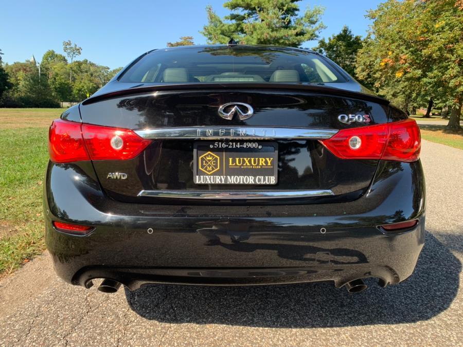 Used Infiniti Q50 4dr Sdn Sport AWD 2015 | Luxury Motor Club. Franklin Square, New York
