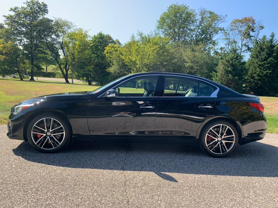 2015 Infiniti Q50 4dr Sdn Sport AWD, available for sale in Franklin Square, New York   Luxury Motor Club. Franklin Square, New York